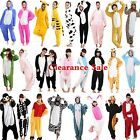Adult Fleece Unisex Onesies Kigurumi Animal Pajamas Cosplay Costume Sleepwear Uk