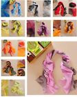 Colorful Chiffon Shawl Scarf Scarves Gradient Color Wrap Ladies Boho Style Hot