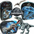 Official Jurassic World School Backpack Rucksack Courier Messenger Bags New Gift