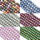 5-6 mm Near Round Black Blue Grey Brown  Freshwater Pearls Beads A