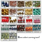 6x4mm Teardrop Czech Glass Beads 50 Choose Color NEW ARRIVALS