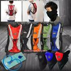 Hydration Backpack+2L Bladder Bag+Face Mask Warmer For Hiking/Camping/Cycling