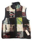 $165 Polo Ralph Lauren Denim & Supply Mens Patchwork Reversible Vest Jacket New