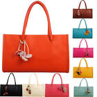 Fashion girls handbags leather shoulder bag candy color flowers tote hot gift