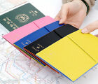 Degage Flat Passport Holder Case Cover Ticket Card ID Cute Kawaii Travel Wallet