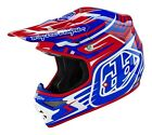 Troy Lee Designs 2016 Air Helmet Scratch Red Adult Size XS-2XL