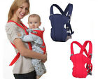 Infant Boy Girl Baby Front Back Sling Wrap Bag Carrier Backpacks Hipseat Belt