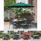 Alfresia Cast Aluminium Garden Furniture Set for 6 in Bronze