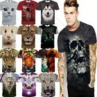 Hot Tiger/dog/leopard Fashion 3d Printed T-shirt Men Women Tee Short Sleeve Top