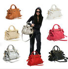 New PU leather  women's bowknot bag handbag Tote Hobo Shoulder bag purse gift