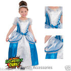 KK10 Deluxe Cinderella Girls Fairy Tale Toddler Book Week Fancy Dress Up Costume