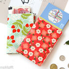 Breezy Windy Blooming Passport Case Cover Ticket Card Holder Travel Mini Wallet