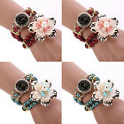 Women Artificial Wristwatche Pearl Flower Casual Bracelet Watch Uique Gift Cheap