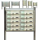Letterbox System Stand Mailbox Mailbox 3 4 5 6 8 10 Compartments