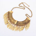 Women Fashion Necklace Gold Pendant Choker Chunky Bib Chain Unique Gift Cheap