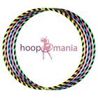 Hoopomania Fitness Hoop, faltbarer Travel Hula Hoop Reifen 0.6kg Dance Hooping