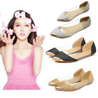 2015 NEW FASHION WOMEN CASUAL FLORAL PRINT METAL POINTED TOE FLATS OXFORDS SHOE