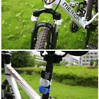 Outdoor Silicone Mountain Bike Front Rear Lights Set Push Cycle Light Clip - CB