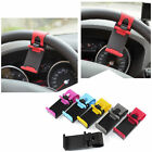 Adjustable Color Auto Steering Wheel Mobile Phone Clip Mount Holder Cradle Stand