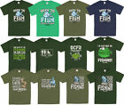 Mens Funny Novelty Fishing Fisherman Angling Top Tee T-Shirts Sizes S to XXL