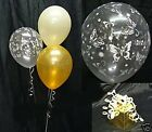 Butterfly Print Balloons - 10 Table Decorations - Wedding - Engagement - DIY Kit