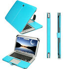 Premium Quality PU Leather Clip Case Cover For Macbook Air 11 13 Pro 15 Retina