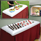 Inflatable Salad Bar White - Portable Buffet Cooler New