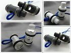 14X36mm 4pcs SHOELACE BUCKLE ROPE CLAMP CORD LOCK STOPPER with ELASTIC RING S680