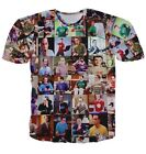 The Big Bang Theory Sheldon Collage Tee T-shirt # A038