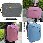 Water-Resistant Canvas Briefcase Backpack Bag For Laptop Notebook Up to 16-inch