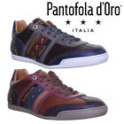 Pantofola D'Oro Ascoli Low Mens Leather Trainers UK Size 6 7 8 9 10 11 12