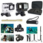 6 in 1 Mount Selfie Stick Battery Monopod Tripod Strap Casing For GoPro 3 3+ 4