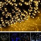 17M 100 LED Solar String Light Multicolor Waterproof Party Outdoor Decor N4U8