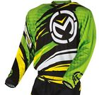 Moose Racing 2015 ADULT MX ATV Jersey M1 Green/Yellow S-3XL