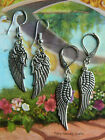 ANGEL WINGS EARRINGS SUPERNATURAL CASTIEL DANGLE TIBETAN SILVER MISHA COLLINS