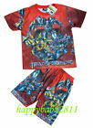 New Transformer Red Outfit T-SHIRT #354 For Age 4-7 Lovely Gift
