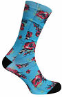 Vans Star Wars Crew Socks Mens Yoda Blue (VXY1E4Q) R