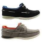 Timberland Classic 2 Eye Mens Boat Shoe Blue Grey Leather Suede (5655R 5211 U61)