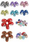 Wholesale European Lampwork Murano Glass Smooth Beads For Charm Bracelet Jewelry