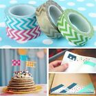 Decor 15mm x10m Ripple DIY Craft Washi Tape Adhesive Mask Scrapbooking Sticker