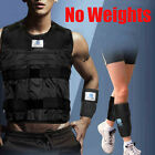 Adjustable Weighted Vest Jacket Led Hand Ankle Exercise Boxing Training(Empty)