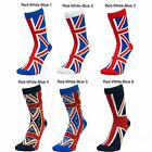 Mens British Flag Union Jack Souvenir Mid Calf Ankle Crew Short Socks New Lot