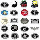 BBUM0346 MANY CASUAL STYLES CARTOON / SYMBOL / HOROSCOPE ALLOY METAL BELT BUCKLE