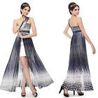 Ever Pretty Women Sexy One Shoulder Printed Long Party Evening Cheap Dress 08010