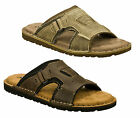 Mens Skechers Gibson-Volume Casual Memory Foam Mules Sandals Sizes 5.5 to 12