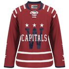 2015 Washington Capitals REEBOK Winter Classic Red Premier Jersey Womens