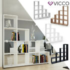 Kyпить VICCO Treppenregal Raumteiler Stufenregal Bücherregal Standregal Regal Treppe на еВаy.соm