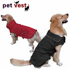 New Large Dog Waterproof Pet Jacket Coat Clothes with Stand-Up Collar Coveralls