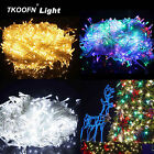 10/20/30/200M LED Mains Powered LED Fairy String Lights 8 Changing Modes UK PLUG