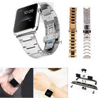 Stainless Steel Strap Dual Press Buckle Watch Bands for Apple Watch iWatch 42mm